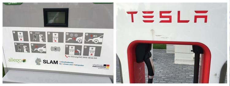 Tankstelle im Vergleich
