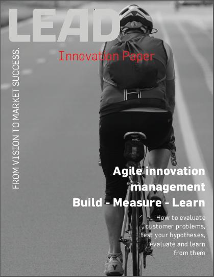 Agile innovation management