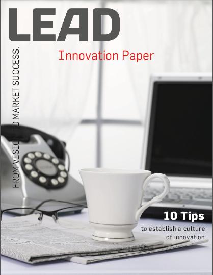 Establishment of an innovation culture
