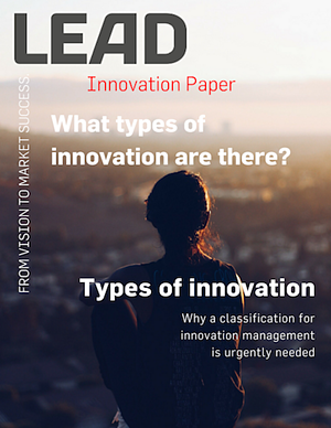 What types of innovation are there