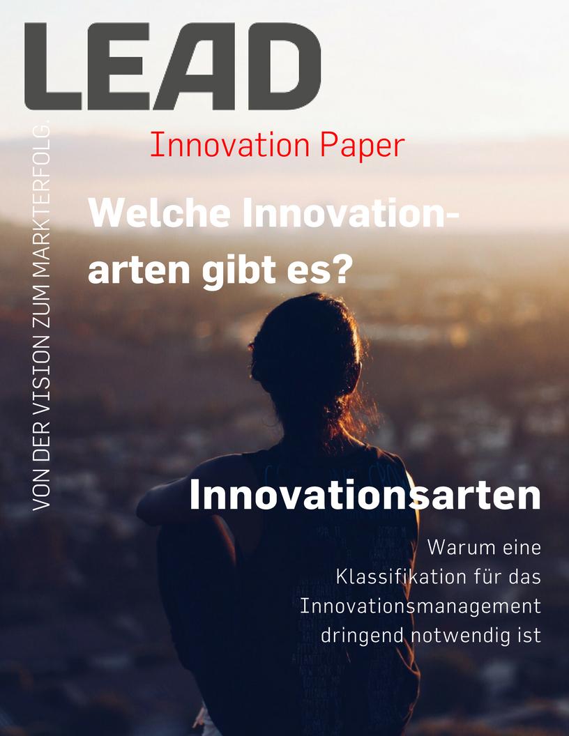 Welche Innovationsarten gibt es