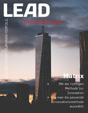 Innovationsmethoden-Matrix – mit der richtigen Methode zur Innovation