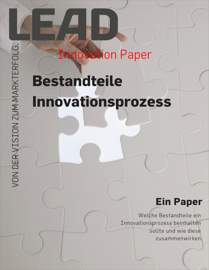 Paper Bestandteile Innovationsprozess