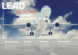 Produktfolder LEAD Service Design 2019