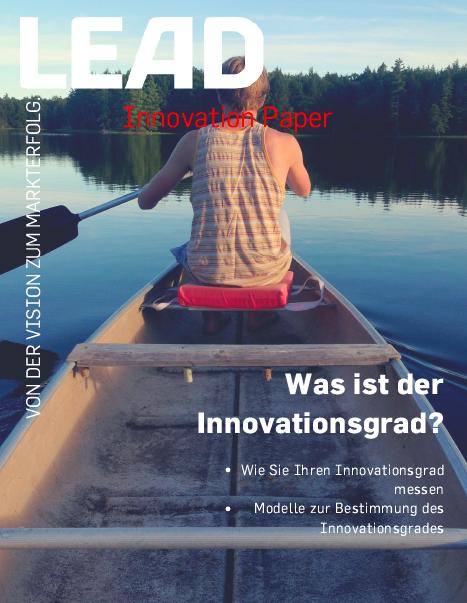 Was ist der Innovationsgrad