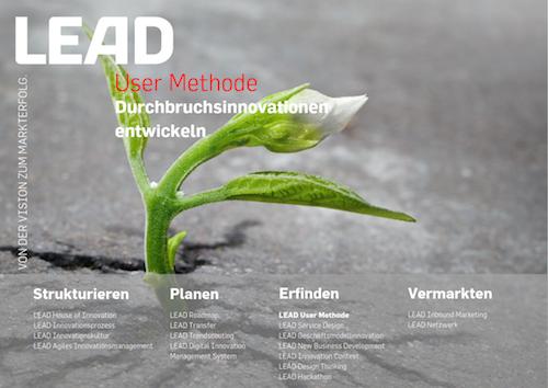 Produktfolder LEAD User Methode 2018
