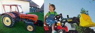 Traktoren waren seine Leidenschaft