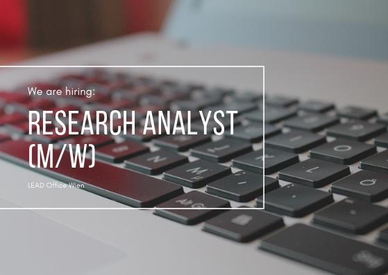 Junior Research Analyst
