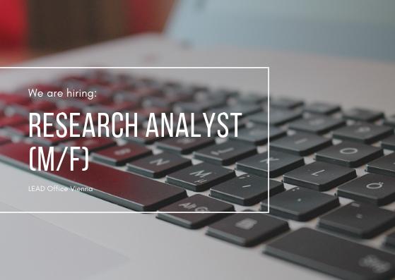 Kopie von Junior Research Analyst