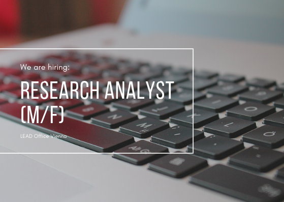 Kopie von Junior Research Analyst