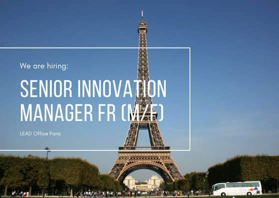 Senior Innovation Manager FR