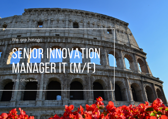 Senior Innovation Manager IT