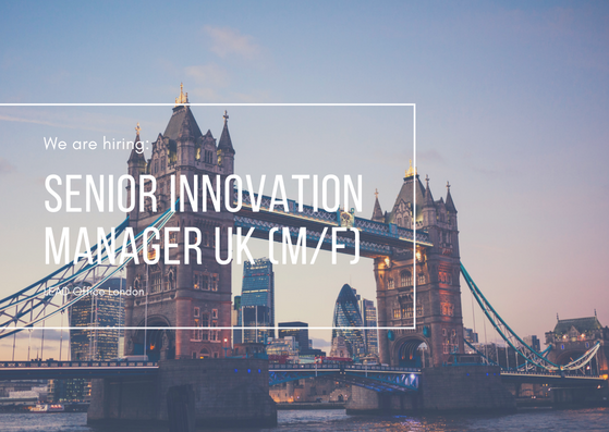 Senior Innovation Manager UK