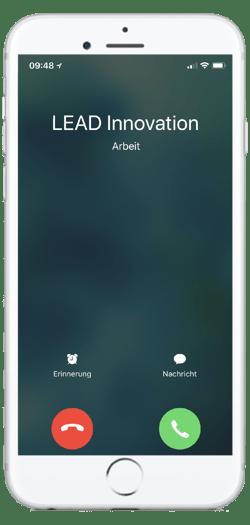 iphone mockup LEAD Innovation