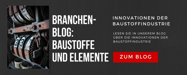 Innovationen der Baustoffindustrie
