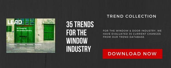 Trend Collection for the window industry